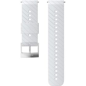 Suunto Athletic 3 Silicone Strap white/steel